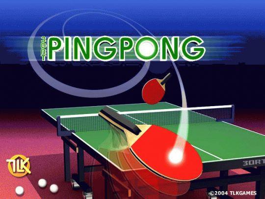 3DRT PingPong Screenshot