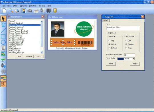 Advanced ID Creator Personal Screenshot