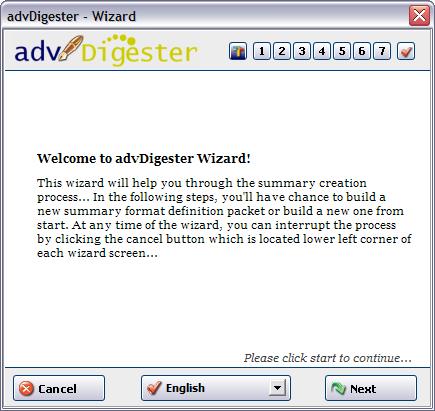 advDigester Screenshot
