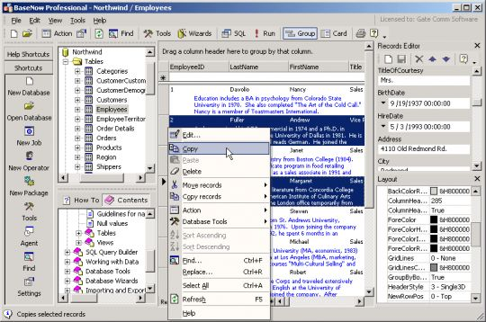 BaseNow Screenshot