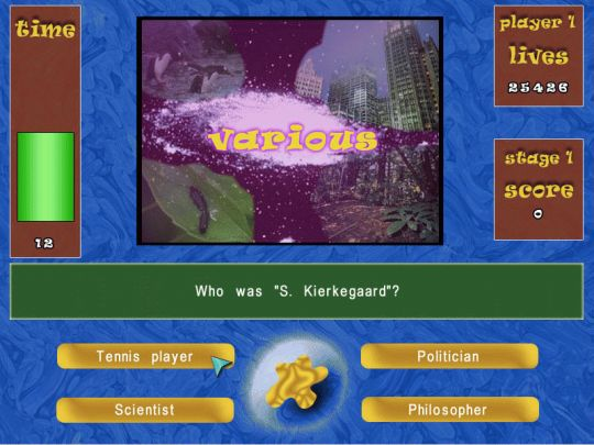 Quizland (PocketPC) Screenshot