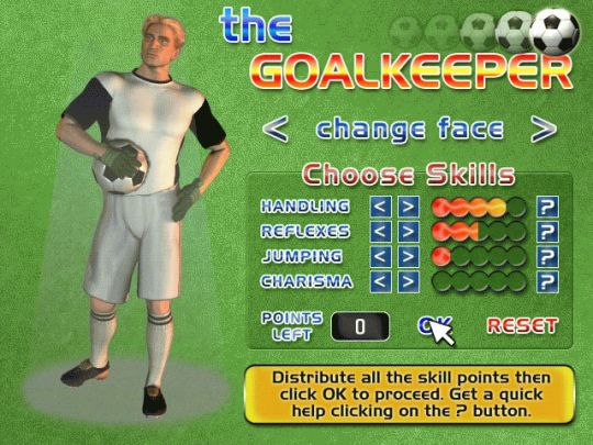 The Goalkeeper (WIN) Screenshot