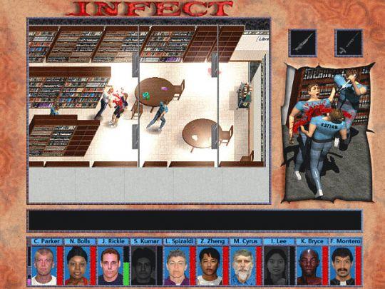 Infect (the Prison Infection Saga) Screenshot
