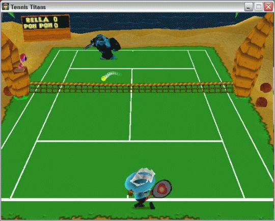 Tennis Titans Screenshot
