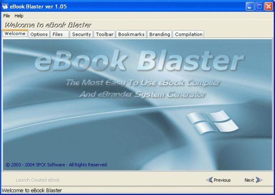 eBook Blaster Screenshot