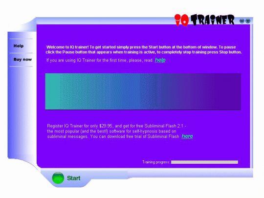 IQ Test Trainer Screenshot