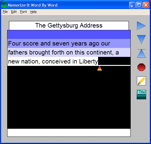 Word By Word Screenshot