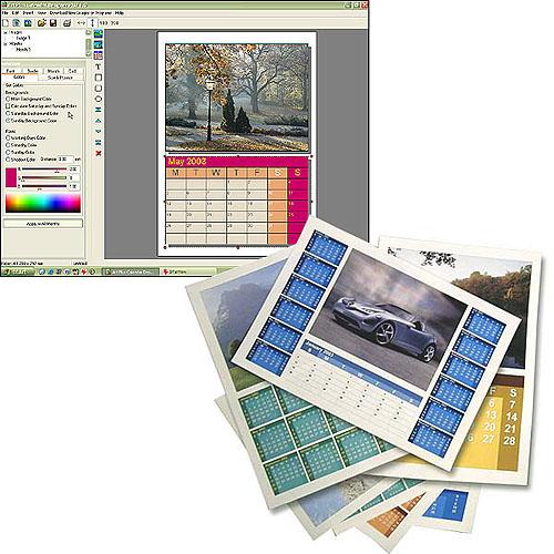Art Plus Calendar Designer Screenshot