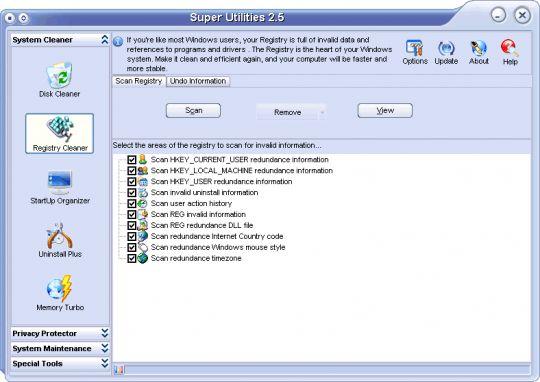 Super Utilities Standard Screenshot