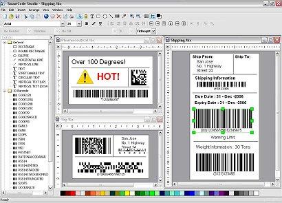SmartCodeStudio Standard Screenshot