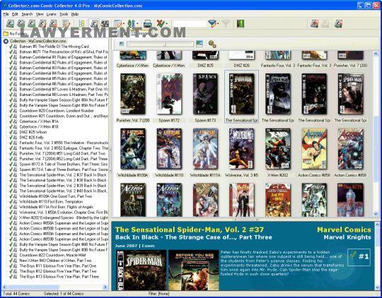 Collectorz.com Comic Collector Screenshot