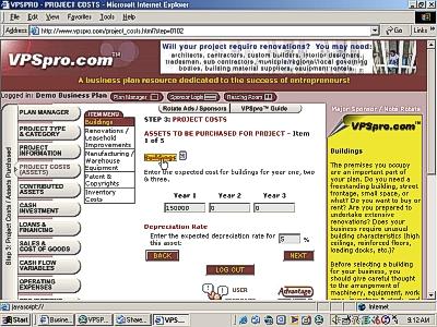 Venture Planning System Pro Screenshot
