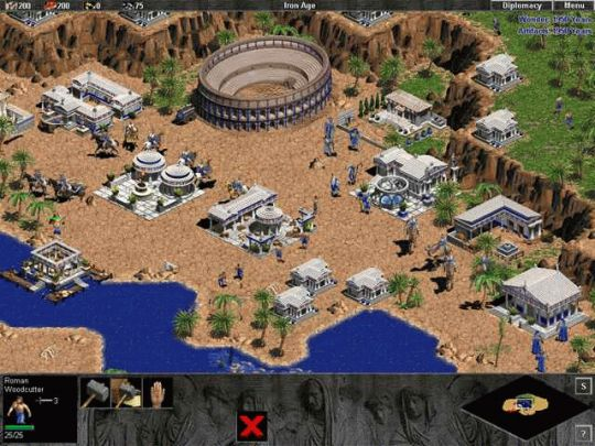 Age of Empires Expansion: The Rise of Rome Screenshot