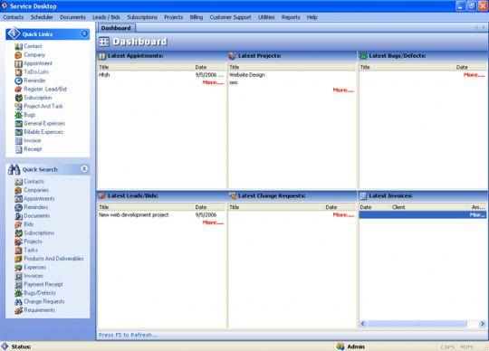 Service Desktop Pro Screenshot