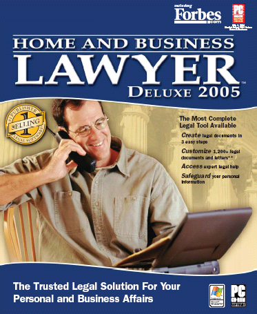 Home and Business Lawyer Deluxe Screenshot