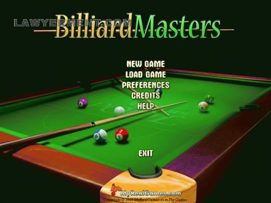Billiard Masters Screenshot