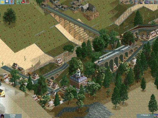 Chris Sawyer's Locomotion Screenshot