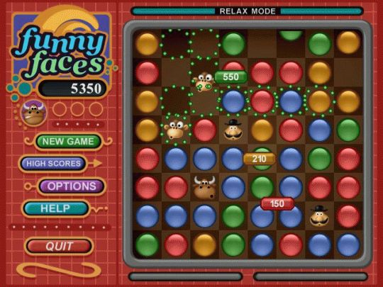 Funny Faces (Mac) Screenshot