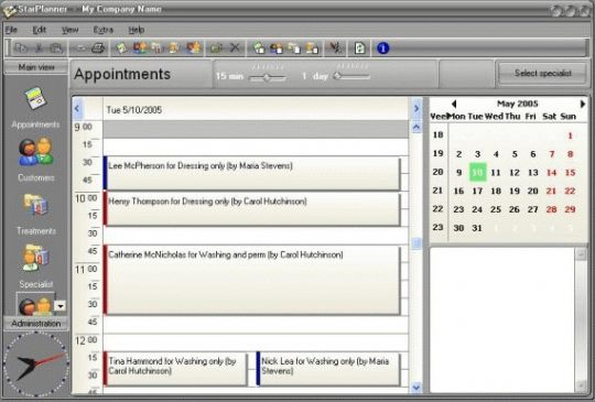StarPlanner Screenshot