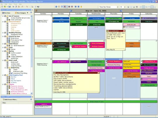 The Calendar Planner Screenshot