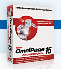 OmniPage Professional Screenshot