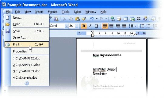 PDF-Creator Screenshot
