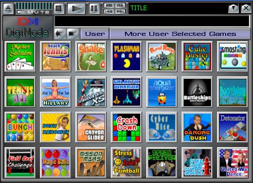 DigiMode Selected Games Screenshot