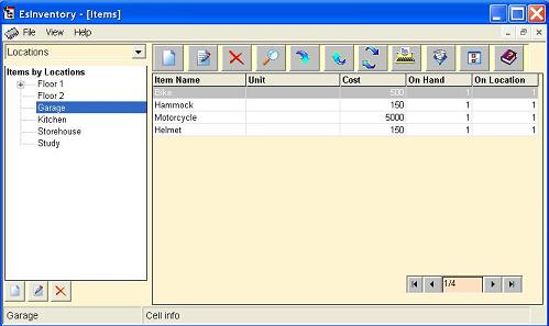 EsInventory Screenshot