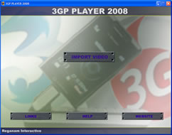 3GP Player 2008 Screenshot