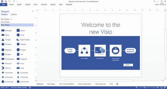 Microsoft Visio Professional Screenshot