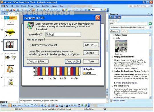 Microsoft PowerPoint Viewer 2007 Screenshot