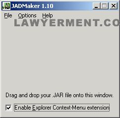 JADMaker Screenshot