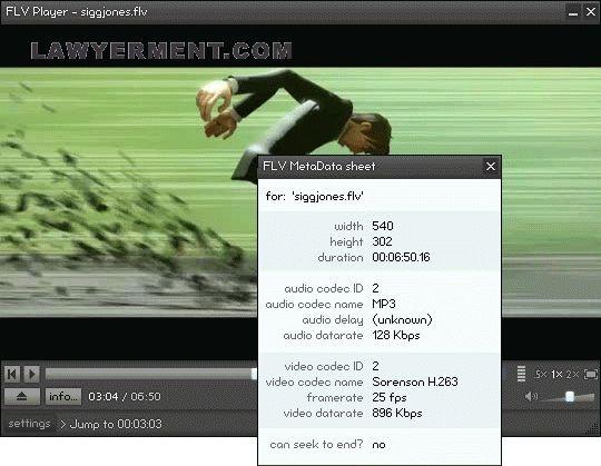 FLV Player Screenshot