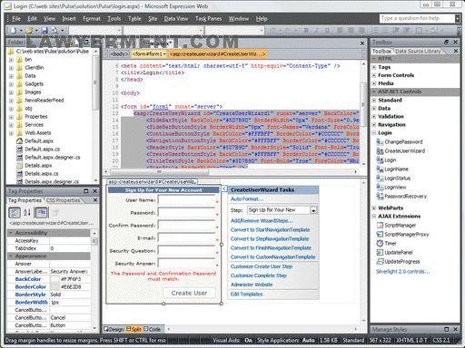 Microsoft .NET Framework 3.5 Screenshot