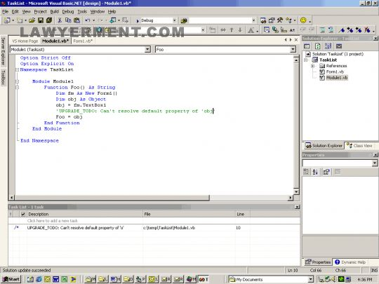 Visual Basic 6.0 Run-time Files Screenshot