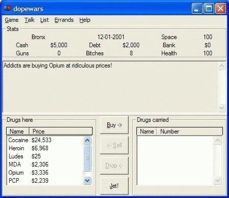 DopeWars Screenshot