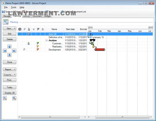 InLoox Screenshot
