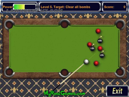 Billiard Bombs Screenshot