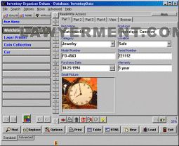Inventory Organizer Deluxe Screenshot