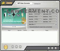 Agogo 3GP Video Converter Screenshot