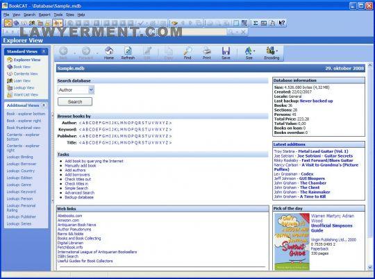 BookCAT Screenshot
