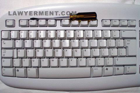 Alphabetical Ordered Keyboard Screenshot