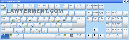 Comfort On-Screen Keyboard Pro Screenshot
