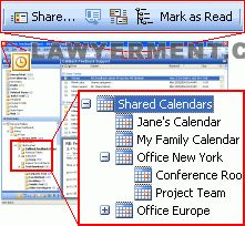 ShareCalendar Screenshot