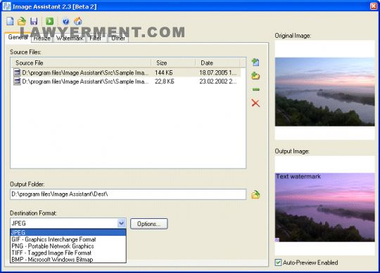 Image Assistant Screenshot