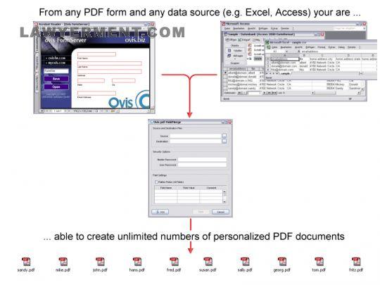 Ovis pdf-FieldMerge Screenshot