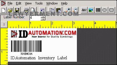 IDAutomation Barcode Label Pro Software 6 7