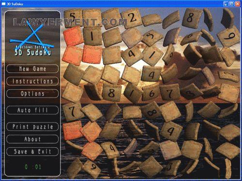 3D SuDoku Screenshot