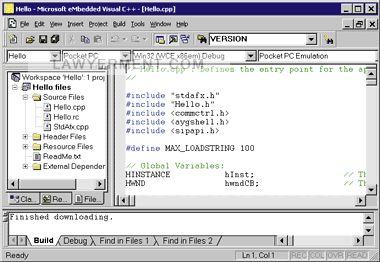 Visual C++ 6.0 Run-time Components Screenshot