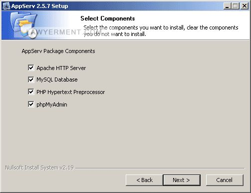 AppServ Screenshot